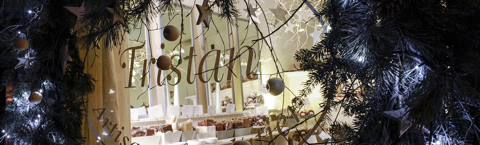 Tristan Chocolatier bannière Noël Boutique2