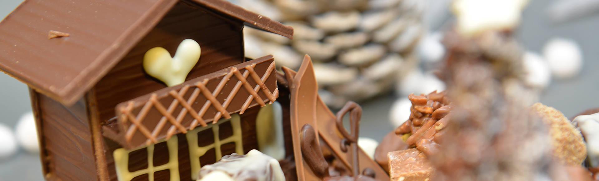 Tristan Chocolatier bannière Noël Chalet