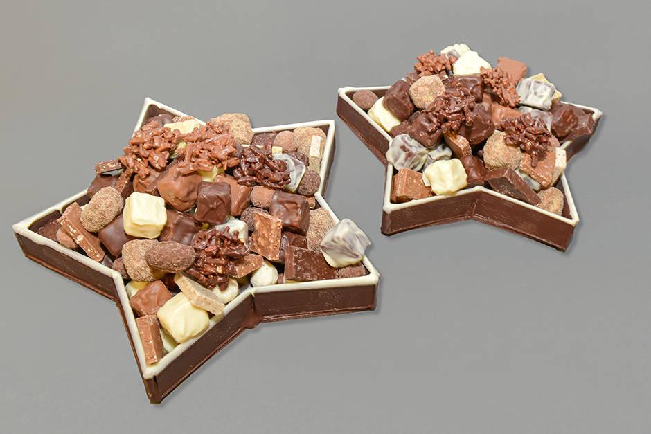 Étoile de Noël Création Tristan Chocolatier