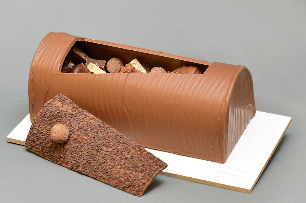 Bûche Noël Tristan Chocolatier