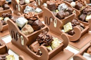 Préparation traineaux Tristan Chocolatier