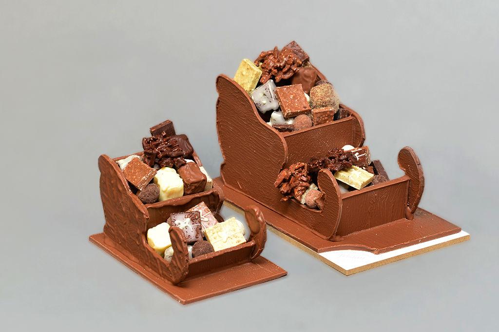 Traineaux Noël Tristan Chocolatier