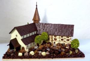 Église Création personnalisée Tristan Chocolatier