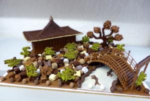Jardin Japonais Création personnalisée Tristan Chocolatier