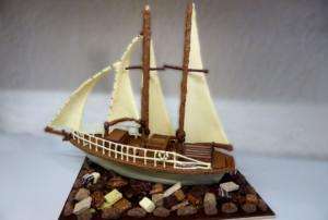 Voilier Création personnalisée Tristan Chocolatier
