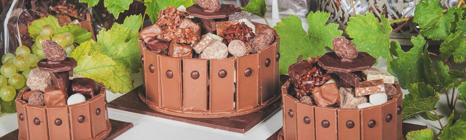 Bannière Vendanges Création Tristan Chocolatier