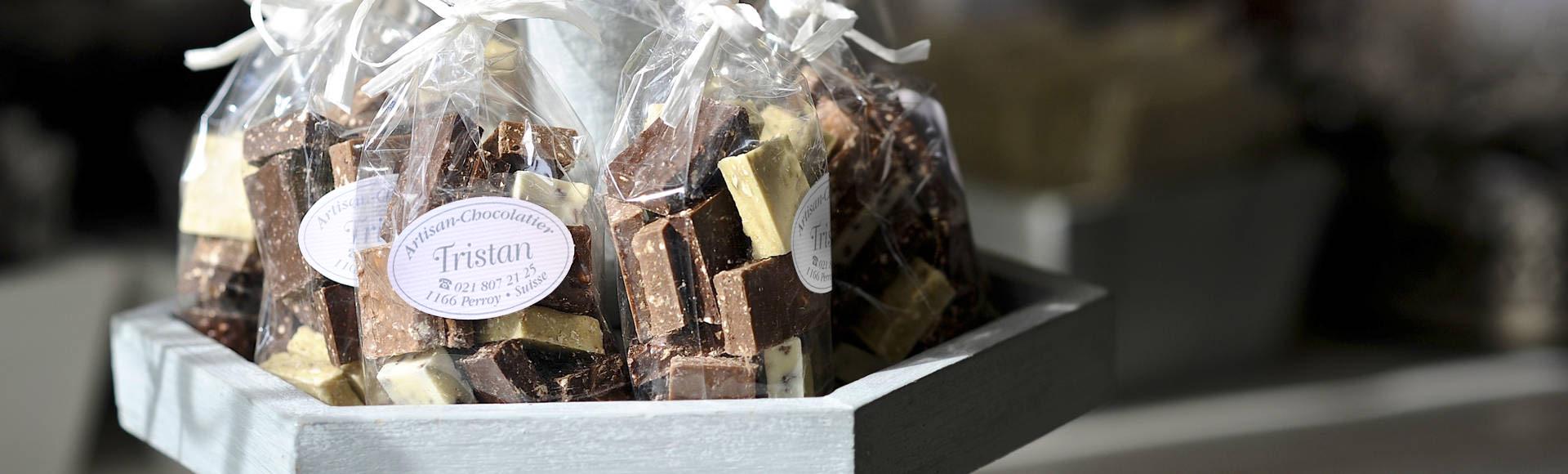 Tristan Chocolatier bannière slider