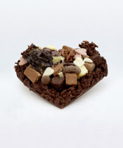 Moyen Coeur Rocher Chocolat Noir Mélange gourmand Tristan Chocolatier