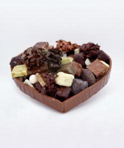 Moyen Coeur chocolat Lait Mélange gourmand Tristan Chocolatier