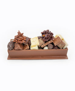 Chemin de Table Chocolat Lait Mélange gourmand Tristan Chocolatier