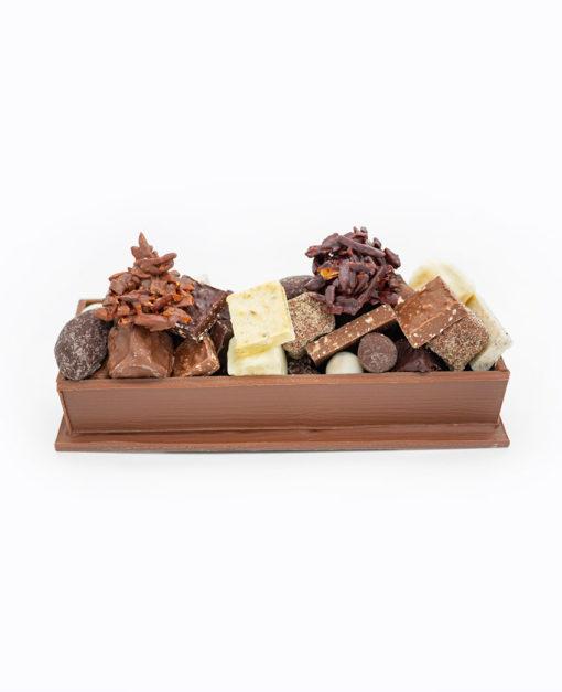Chemin de Table Chocolat Lait Mélange gourmand Tristan Chocolatier