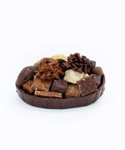 Ovale Chocolat Noir Mélange gourmand Tristan Chocolatier