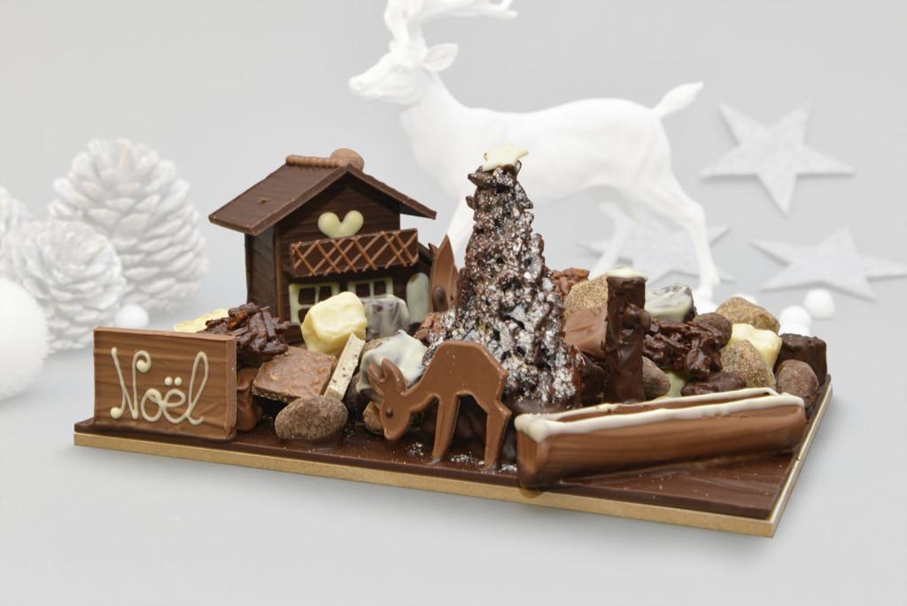 Le jardin de Noël Tristan Chocolatier