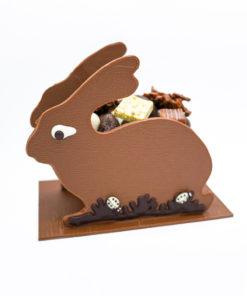 Lapin de Pâques Lait Moyen Mélange gourmand Tristan Chocolatier