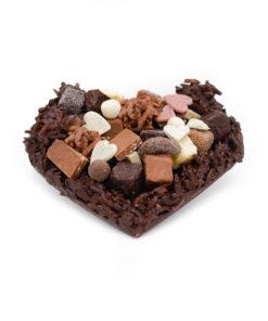 Moyen Coeur Rocher Noir Tristan Chocolatier